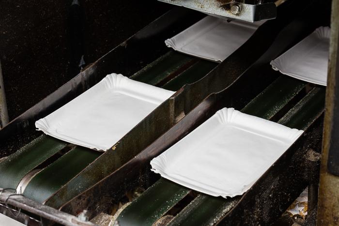paper trays foto reportage Den Haag, Nederland