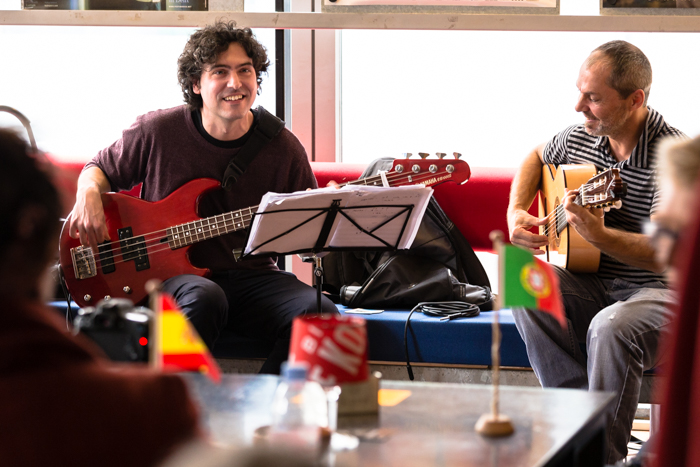 Live music in Delft, The Netherlands