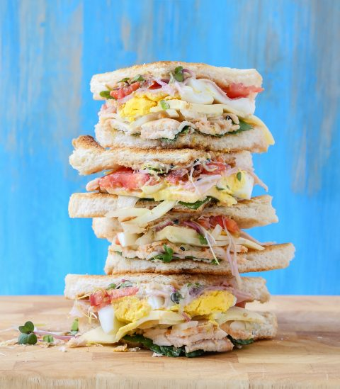 tall club sandwich